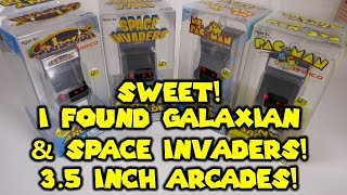 3.5 Inch Tiny Arcades! Galaxian & Space Invaders - Fully Functional Mini Arcades!