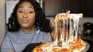 Download HOW TO MAKE A HOMEMADE PIZZA EASY! Mp3 and Videos