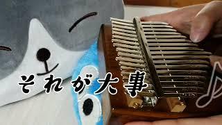 懐かしいね、大事マンね   #カリンバ演奏#それが大事 #春の応援ソング.