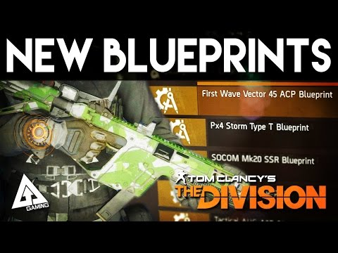 The Division New Blueprints - First Wave Vector 45 ACP | Weekly Reset April 16th