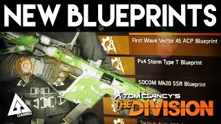 the division new blueprints first wave vector 45 acp   weekly reset april 16th