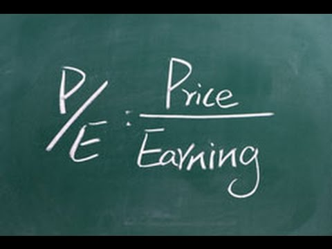 What is P/E Ratio - Price Earning Ratio?