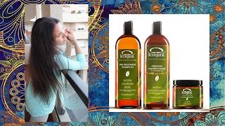 Кератиновое выпрямление волос в домашних условиях с  Kerarganic. Масла Kitoko и Hipertin для волос