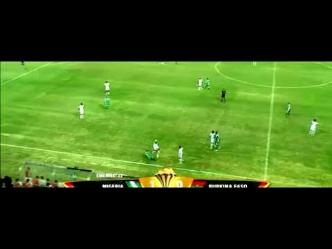 Nigeria vs Burkina Faso - All Touches (Super Eagles)