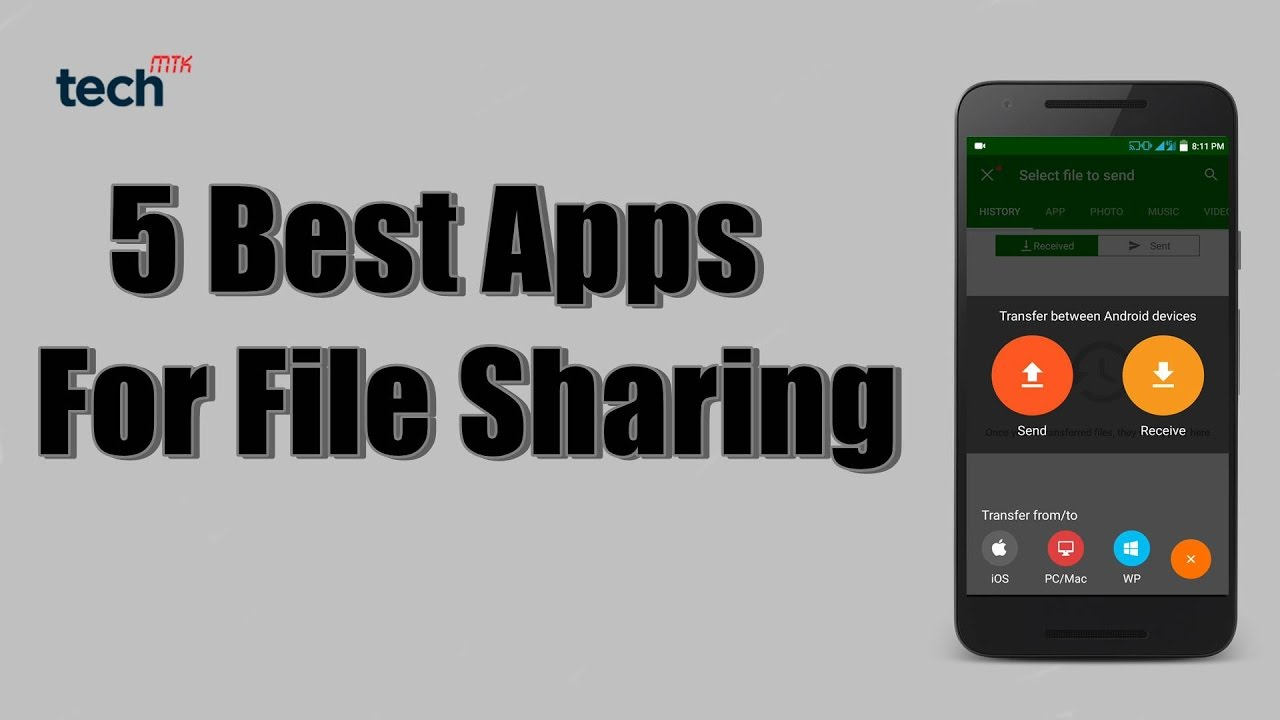 5 Best Files Sharing App for Android Phones