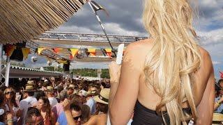 Angie Saint Tropez Beach 100% Live