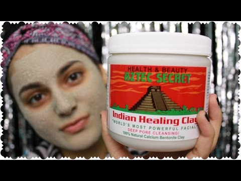 BEST MASK EVER! Aztec Secret Indian Healing Clay Review + DEMO | ...