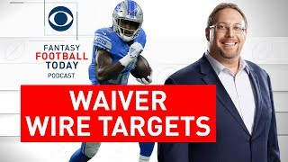 Top WAIVER WIRE Targets, Pickups for Week 8 | 2019 Fantasy Football Advice | Full Episode