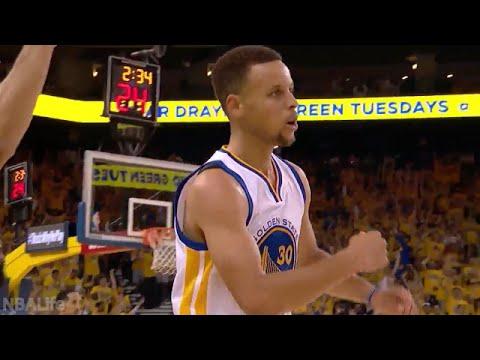 Stephen Curry 2016 NBA Playoffs Highlights | 1st & 2nd rounds