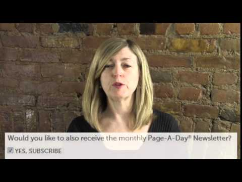 How to Register for Your Page-A-Day Digital Calendar