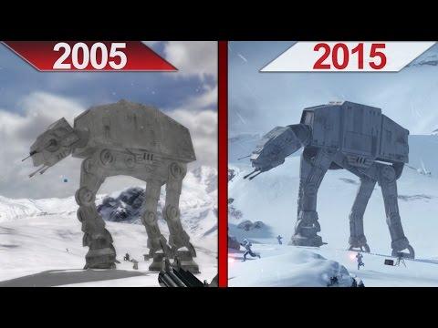 Comparison | Battlefront 2 (2005) vs. Battlefront (2015) | ULTRA | GTX 970