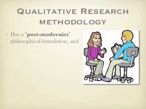 Into to Research Methodology