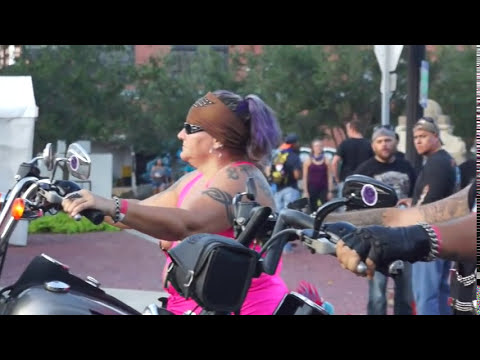 Galveston Lone Star Motorcycle  Rally:  Bikers, Babes, Booze!