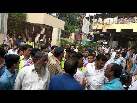 Satyanagar Krishnanagar Pipeline Demolition, Sakinaka,Mumbai