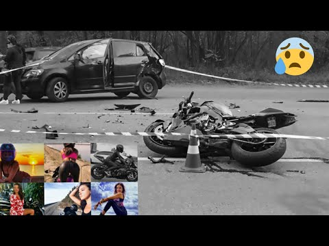 Breaking news Beautiful Motorbike Blogger Killed In Road Accident #kuzavini Elena #bike accident
