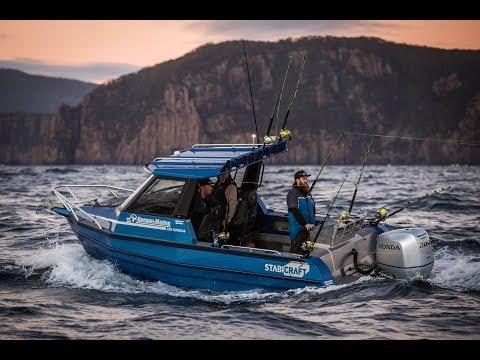 Bluefin Fishing Tasmania In A 2100 Stabicraft Extracab