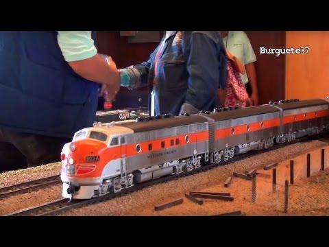 XIII Aniversario Club Queretaro - Tren de Pasajeros California Zephyr