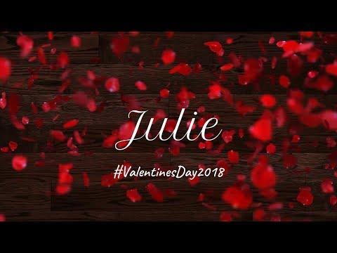 Julie_Lyrical Video_Anirudh Ravichander_Vignesh Shivan_Valentine's Day 2018