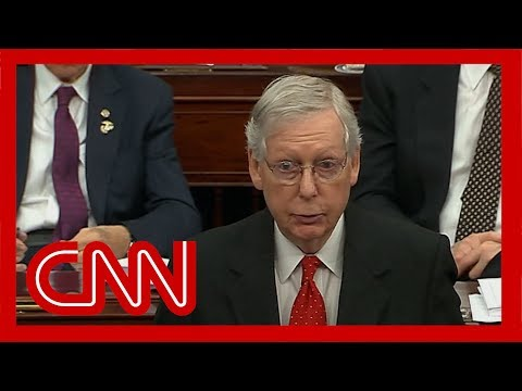 McConnell changes impeachment