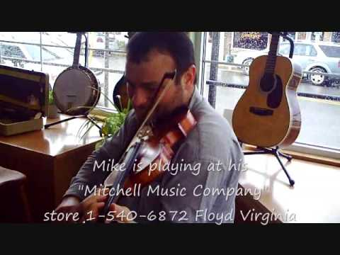 Mike Mitchell Plays -Limerock- Mitchell Music Company- Floyd VA.wmv