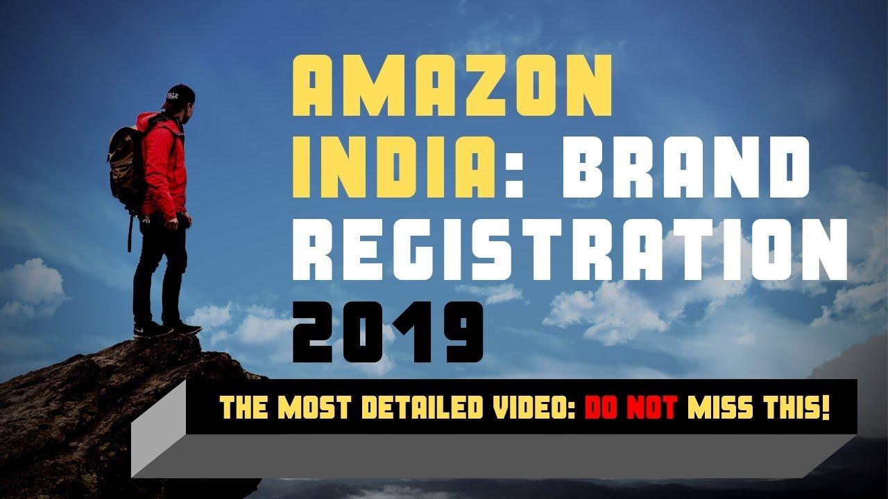 amazon brand registration