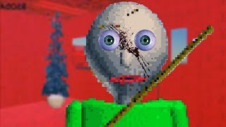I COMPLETED THE GAME!!   Baldi