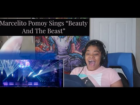 "Marcelito Pomoy Sings ""Beauty And The Beast""  America's Got Talent: The Champions REACTION!!"