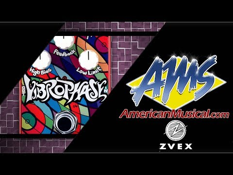 ZVex Effects Vibrophase - American Musical Supply