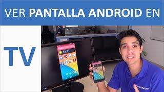 Como ver Pantalla Móvil Android en TV con Chromecast (Mirroring)   Español