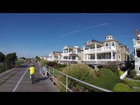 Ocean City NJ boardwalk going south