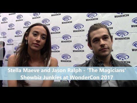 the magicians - jason ralph, stella maeve interview, season 2, Hause deko