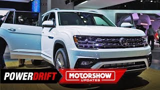 Volkswagen Atlas : The Unassuming German Suv : 2019 Detroit Auto Show : Powerdrift