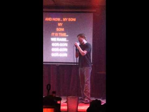 """Calla Johns Karaokes """"Gor-Gor,"""" By GWAR"""