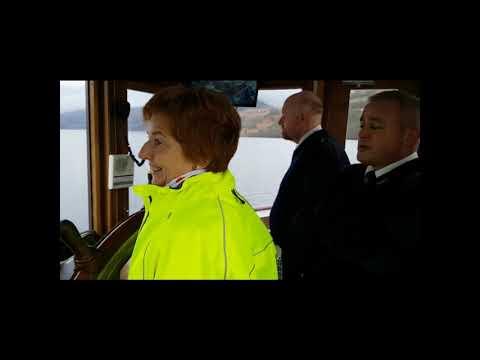 Matildas Musings - Steering the SS Sir Walter Scott on Loch Katrine