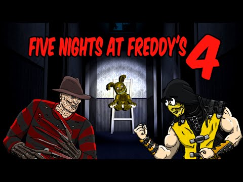 scorpion-&-freddy-krueger-play---five-nights-at-freddy's-4-|-mkx-gameplay-parody!