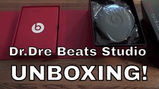 Beats by Dr. Dre Black Studio Edition Unboxing (New Box 2011) HD