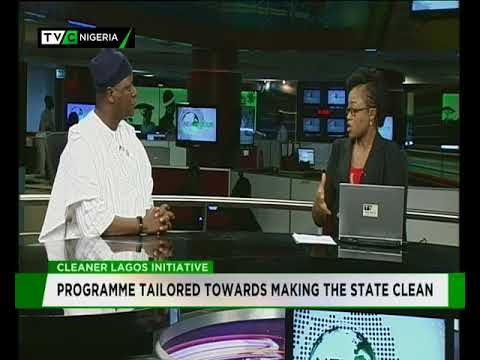 Commissioner for Information,  Kehinde Bamigbetan speaks on Cleaner Lagos Initiative