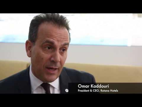 Omar Kaddouri, chief executive, Rotana Hotels