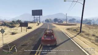 GTA 5 story mode and funny moments #1