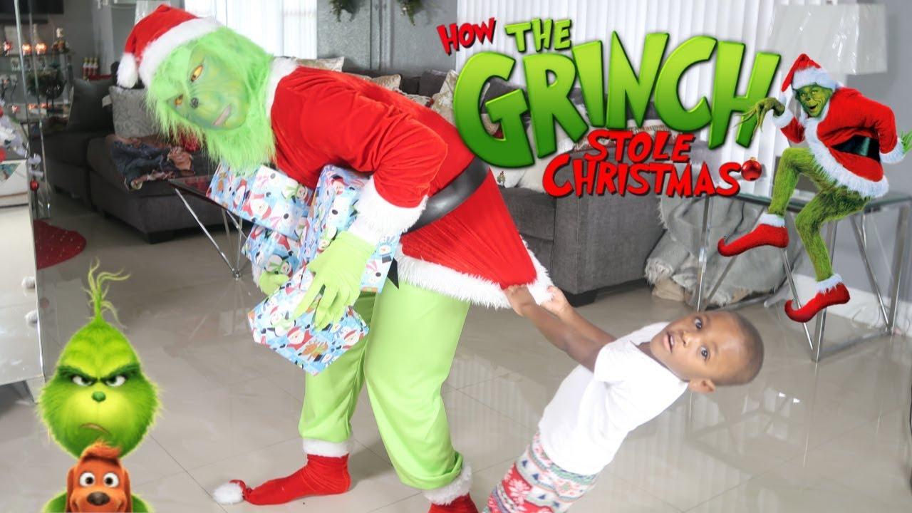 Download ESCAPE the GRINCH! Grinch Stole our Presents | THE GRINCH Stole Our CHRISTMAS!