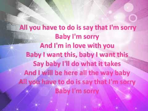 Ciara Sorry Lyrics