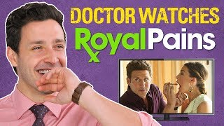 real-doctor-reacts-to-royal-pains-medical-drama-review