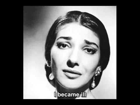 Maria Callas - La Mamma Morta (English Subtitle)