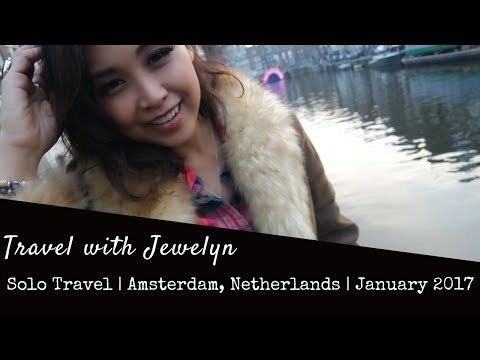 Travel with Jewelyn: Solo travel Amsterdam. Eating Danish food for the first time
