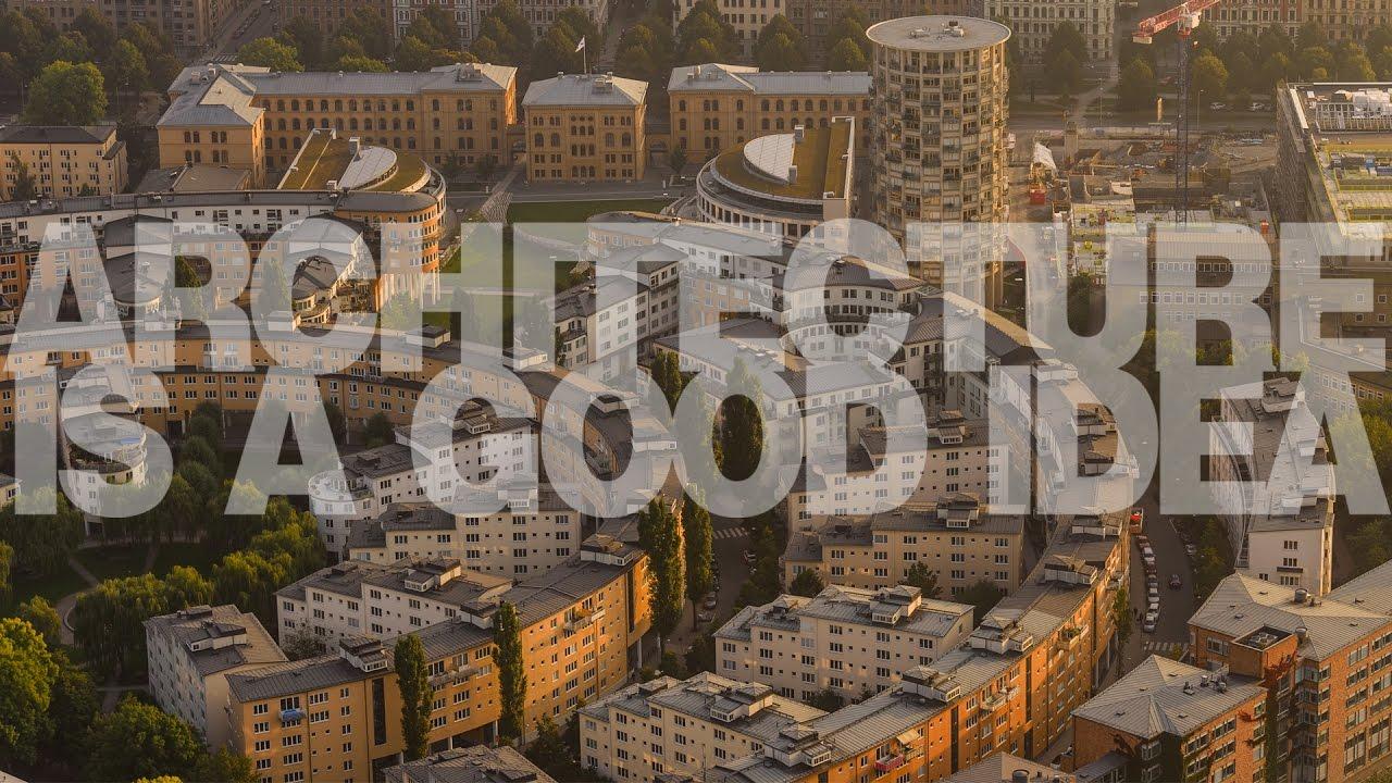 Polak, który projektuje Sztokholm | Architecture is a good idea