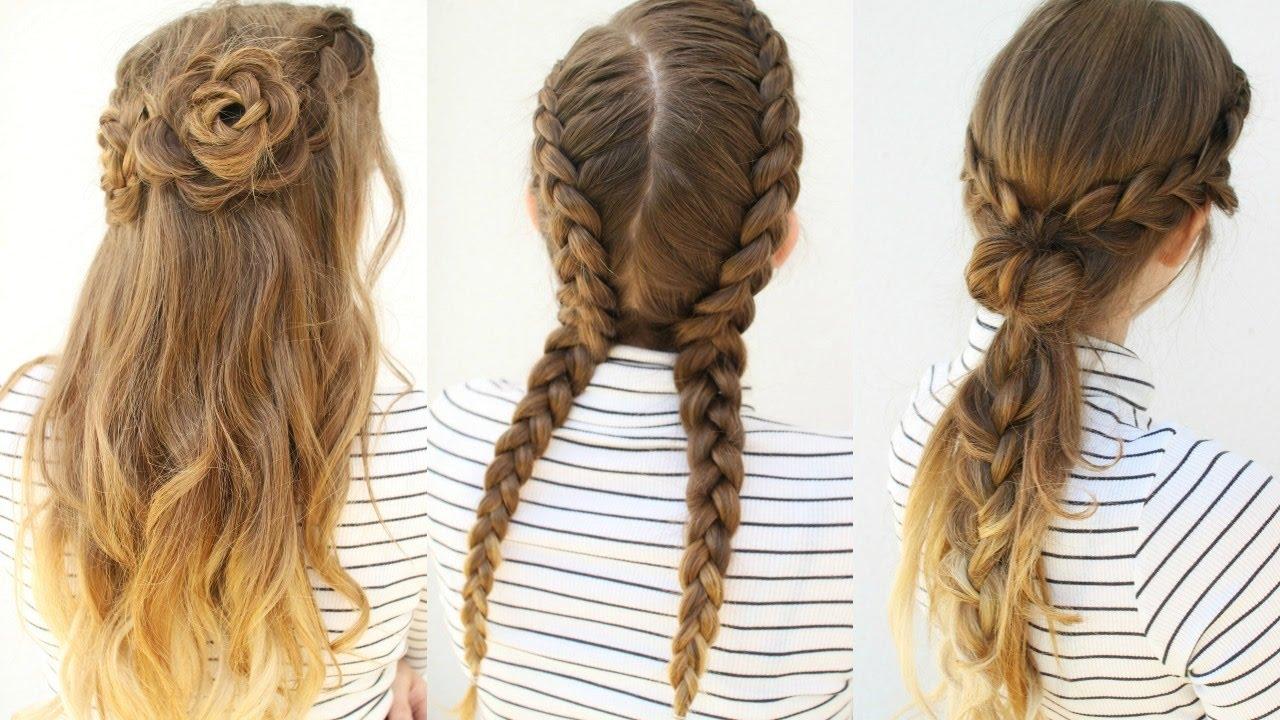 3 pretty tumblr inspired hairstyles | tumblr braids | braidsandstyles12