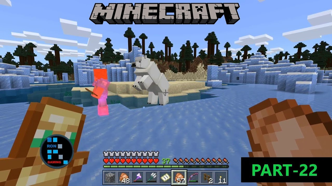 MINECRAFT GAMEPLAY  GOING ON THE ADVENTURE FOR COLLECTING FISH AND CORAL  FOR THE AQUARIUM#9