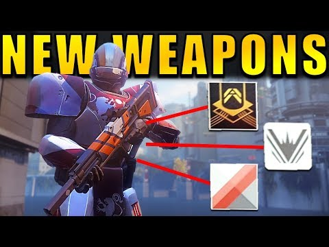 Destiny 2: NEW WEAPON INFO! Mods, Shaders, Perk Rolls, Customization & More!