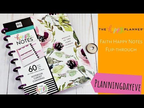 happy planner faith edition 2019