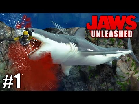 Jaws Unleashed - PS2 Gameplay Playthrough 1080p Part 1